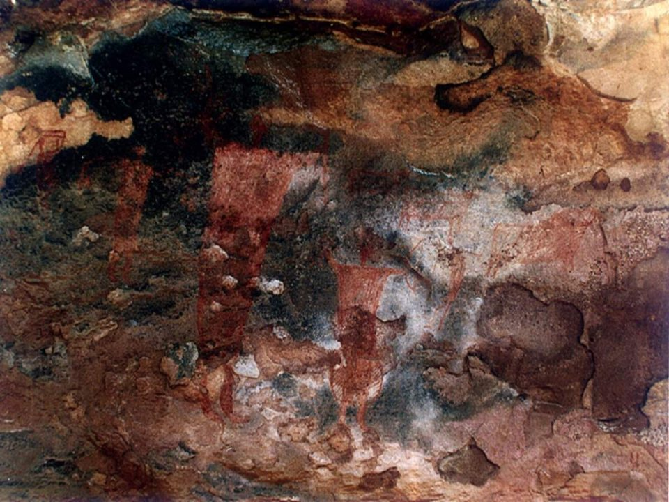 Thousand years old paiting