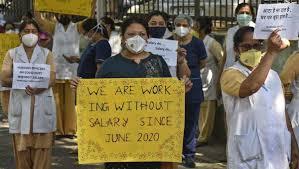 hindurao staff protest
